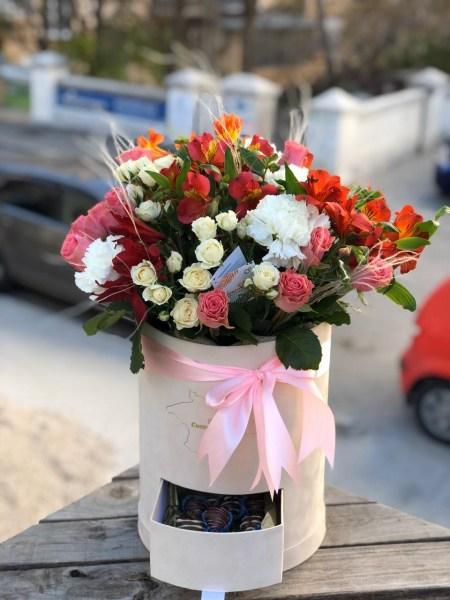 BIG strawberryflower box