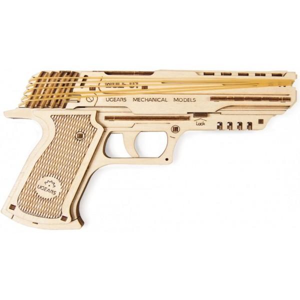 Пистолет Вольф-01 от UGEARS